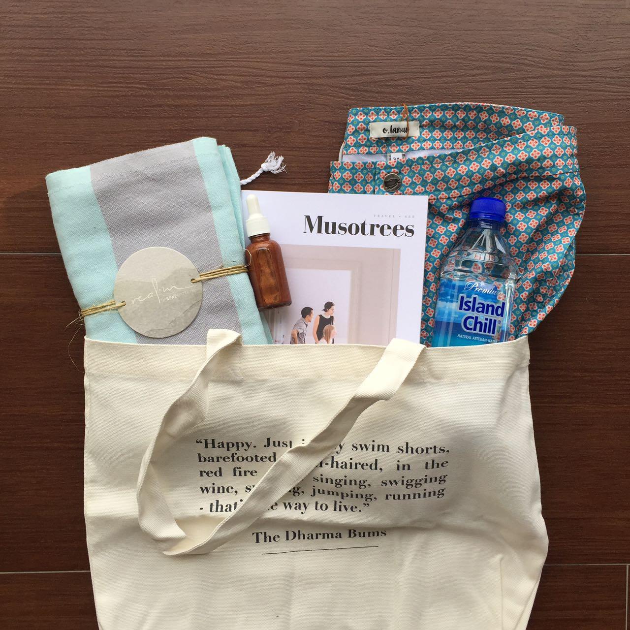 Image of Real.m Corporate Gift Pestemal Towel Beach Kit